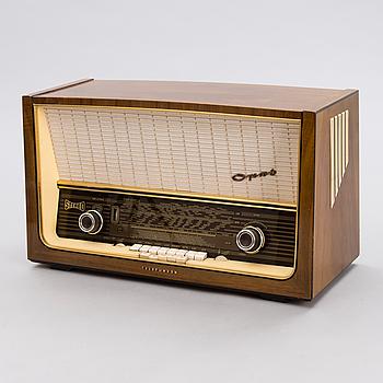 RADIO, modell Opus, Telefunken, 1950-tal.