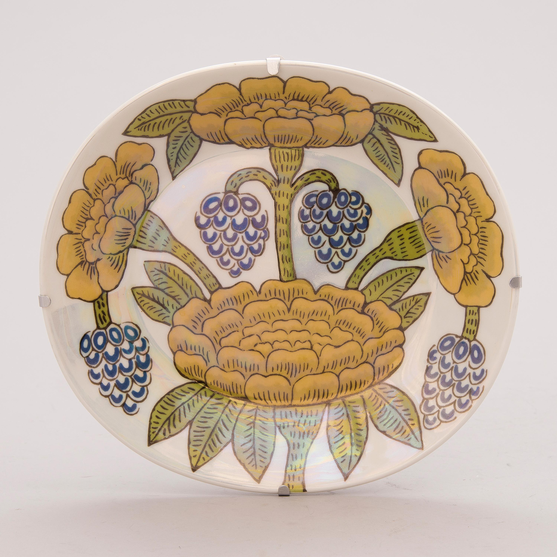"BIRGER KAIPIAINEN, A Decorative Porcelain Dish, ""Elegance"
