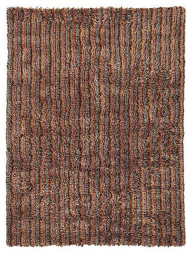 Agda österberg, a carpet, criterionrya (ava-rya), pile, ca 231,5 x 171 cm.