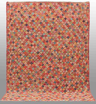 A carpet, oriantal kilim, around 290 x 210 cm.