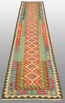GALLERIMATTA, Kelim, orientalisk, ca 382 x 85 cm.