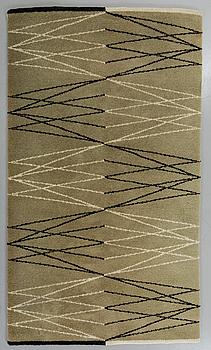 """MATTA, """"Bruzaholm"""", sniljeflossa, Aina Kånge, 204 x 132 cm."""