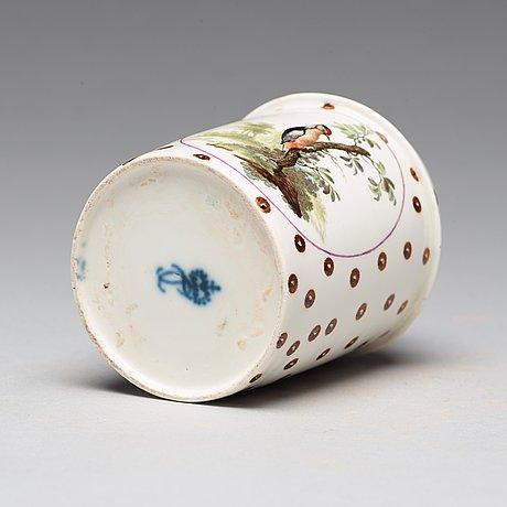 Tedosa, porslin. frankenthal, 1700 tal