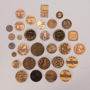 PARTI BORDSMEDALJER, 31 st, brons, Finland, 1900-talets andra hälft.
