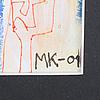 Mauritz karstrÖm, blandteknik, signerad och daterad  01