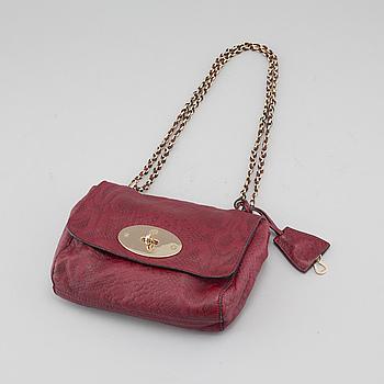 """Väska """"Lily Silky Snake"""" Mulberry."""
