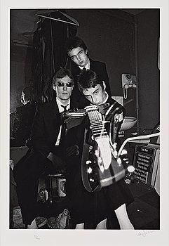 IAN DICKSON, Fotografi, The Jam, signerad och numrerad 37/100.