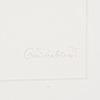 Oscar reutersvÄrd, färglitografier, 4 st, signerade och numrerade