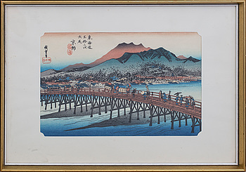 HIROSHIGE, after, first half of the 20th century.