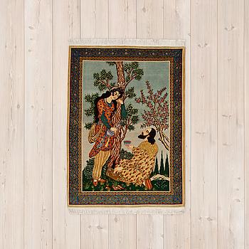 OLD TÄBRIS FIGURAL, ca 140 x 101 cm.