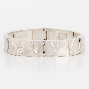 LAPPONIA, a sterling silver bracelet, Finland, 1991.
