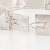 "BjÖrn weckstrÖm, armband, modell ""ceres"", sterling silver. lapponia 1992."