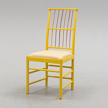 A second half of the 20th century model 2025 chair by Josef Frank for Firma Svenskt Tenn.