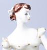 Figurin, porslin, royal dux.