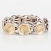 Anders hÖgberg, bracelet, silver.