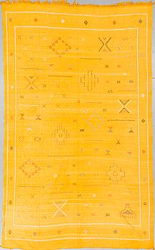 """KELIM"", kaktus ""silke"", Marocko, ca 275 x 166 cm."