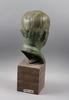 OkÄnd konstnÄr, skulptur brons. bär otydlig signatur.