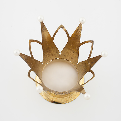 A bridal crown set with cultured pearls by ceson, göteborg, 1965