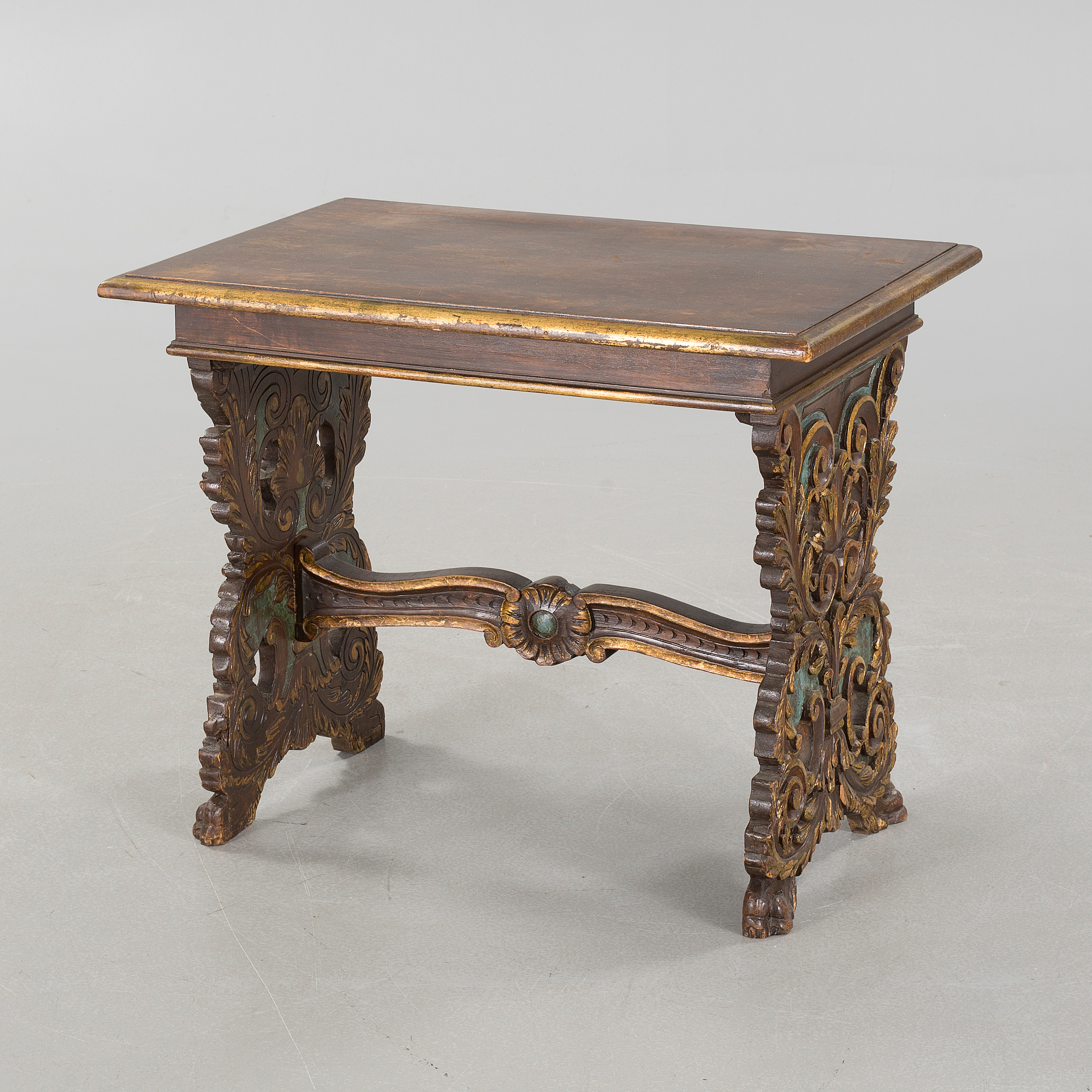 A Baroque Style Coffee Table, First Half Of The 20th Century.   Bukowskis