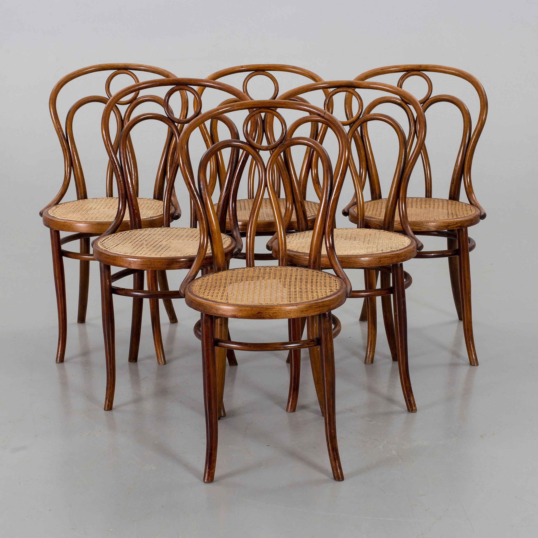 A Set O 6 J J Kohn Chairs Vienna Bukowskis