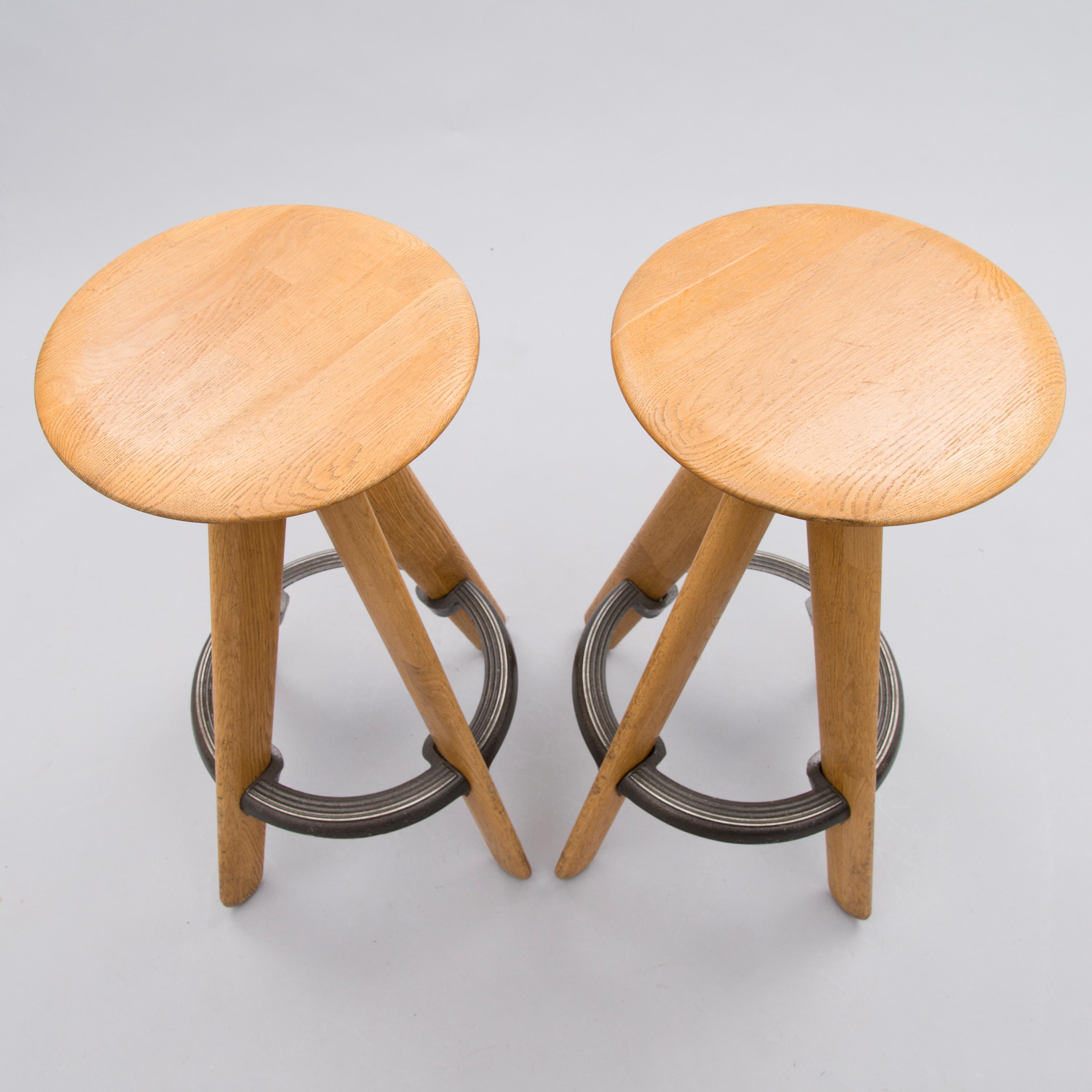 Outstanding Tom Dixon A Pair Of 21St Century Slab Bar Stools Bukowskis Gmtry Best Dining Table And Chair Ideas Images Gmtryco