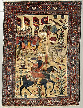 MATTA, persisk, semiantik, 194 x 137 cm.