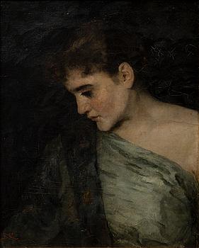 293. Benes Knupfer, PORTRAIT OF A LADY.