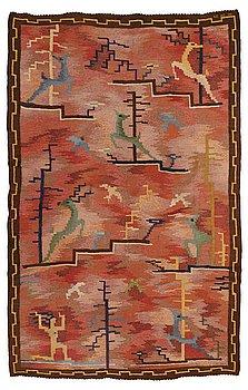 209. Carl Edvin Svensson, CARL EDVIN SVENSSON, A CARPET, flat weave, ca 303,5 x 195,5 cm, signed CES (Carl Edvin Svensson),