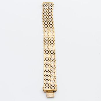 ARMBAND 18K tvåfärgat guld, 34,6 g.