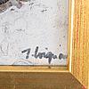 James coignard, gouache, signed