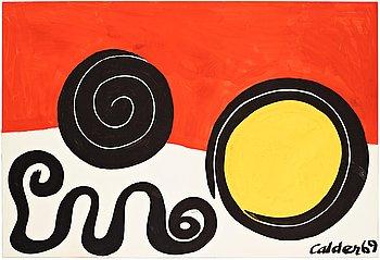 435. Alexander Calder, Untitled.