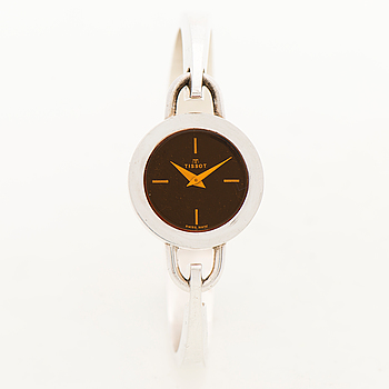 """TISSOT, """"Smoky"""", armbandsur, 24 mm, design Pekka Piekäinen."""