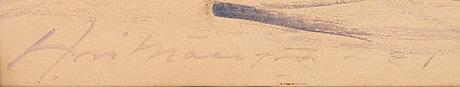 Arvi mÄenpÄÄ, blandteknik, signerad och daterad  21