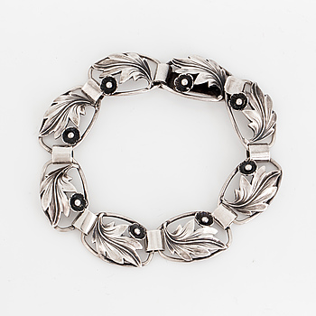 BRACELET, silver.