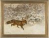 Bruno liljefors, oil on canvas, signed bruno liljefors and dated 1919.