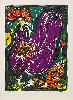 """GRAFIKMAPP """"International Contemporary Art Collection"""", 12 färglitografier, Vasarely, Sugai, R Mortensen m fl."""