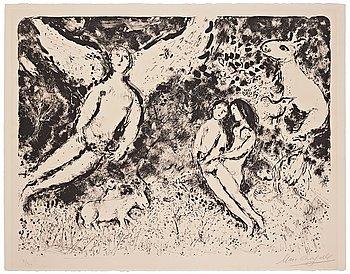 """581. Marc Chagall, """"Ombre et Lumière""""."""