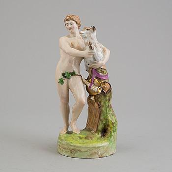 A Northern European porcelain figure, 19th century.