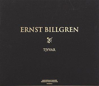 """ERNST BILLGREN, mapp med 3 färglitografier, """"Tjyvar"""", signerade och numrerade 129/175."""