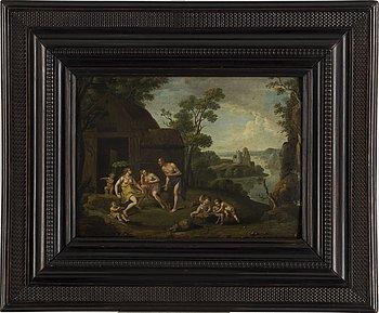 FLAMLÄNDSK SKOLA, 16/1700-tal. olja på pannå.