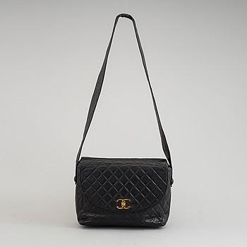 "CHANEL, ""Matelasse Leather Flap Bag"", 1991-94."