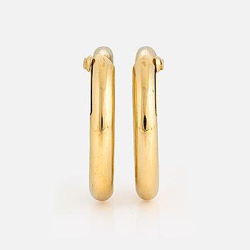 955. Cartier guldcreoler.
