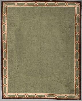 MATTA, flossavariant, ca 394 x 312 cm, 1900-talets förra hälft.