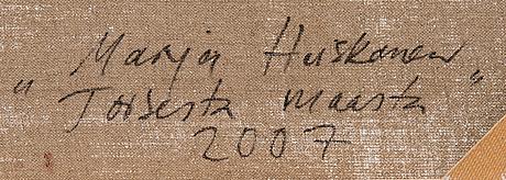 "Marja heiskanen, ""from another land""."
