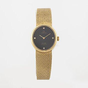 OMEGA, De Ville, armbandsur, 23 x 25 mm.