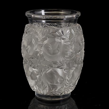 A Lalique Glass Vase Bukowskis