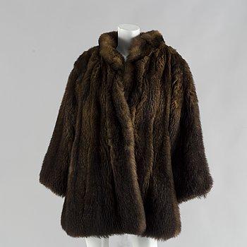 A 1980's fur by Yves Saint Laurent.