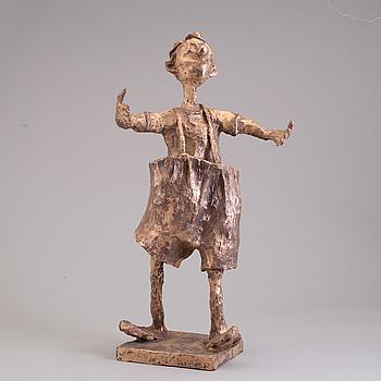 KARL HÖGLUND, skulptur, brons, signerad Karl Höglund och numrerad 15/25.