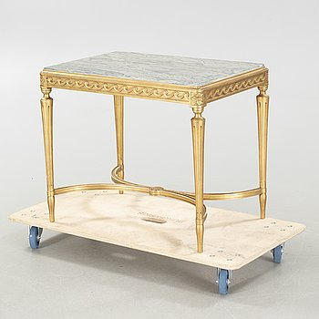 A gustavian style table, 20th century.