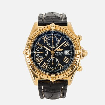 "BREITLING, Crosswind, ""Tachymetre"", wristwatch, chronograph, 43 mm."